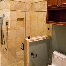 Traditional Bathroom by Rives Designers, LLC