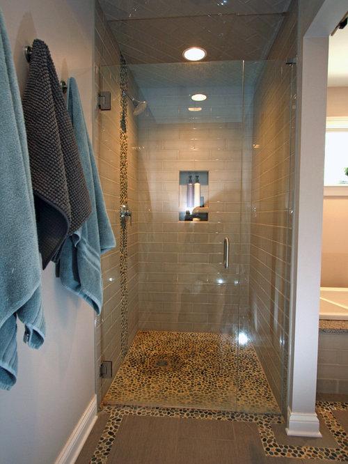 Cincinnati Walk In Shower Design Ideas Remodels Photos