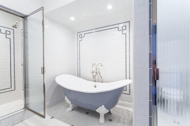 Traditional Bathroom by JAR Corp