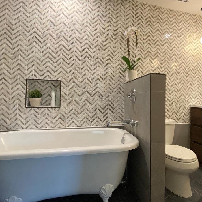Spa Get-Away Bathroom Retreat Renovation