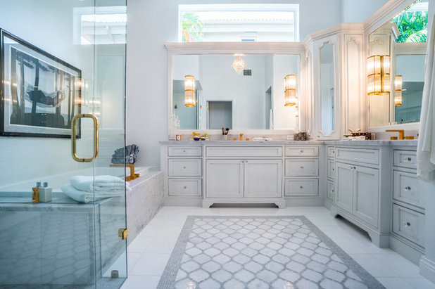Contemporary Bathroom by Waterview Kitchens