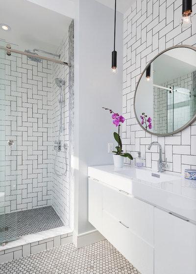 Современный Ванная комната by Studio Z Design