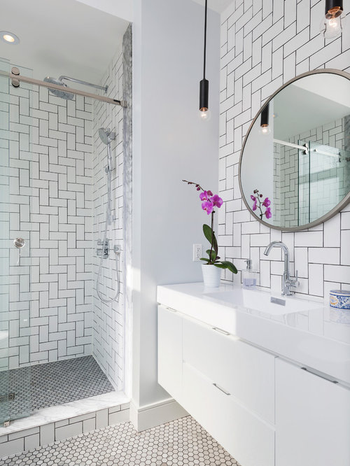 small bathroom design ideas remodels amp photos with subway small bathroom floor tile houzz