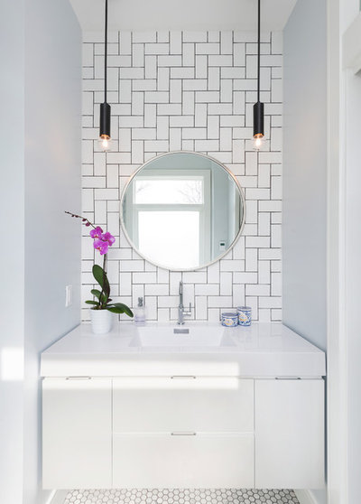 Contemporary Bathroom by Studio Z Design