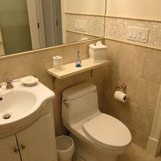 Contemporary Bathroom by Advantage Contracting