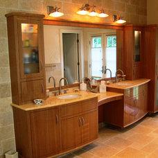 Bathroom by Advantage Contracting