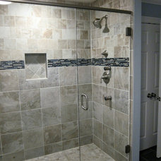 Bathroom by Advantage Contracting