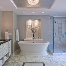 Before and After: A Revamped Master Bathroom Shines Bright
