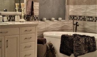 After Bathroom Transformation-Tub & Vanity