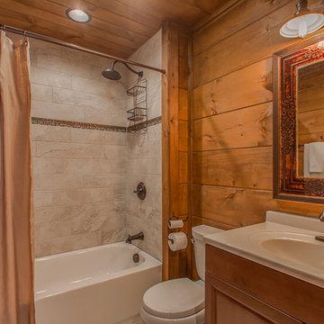 AFTER - Log Cabin Build Gatlinburg, TN