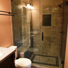 slate tile bathroom remodel - Bathroom Remodel Lansing Mi