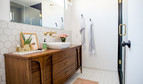 Bathroom Makeovers On Houzz Tips From The Experts - Modern bathroom makeovers