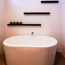 Contemporary Bathroom by AgathaO House of Design - interior design