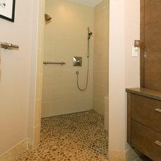 Contemporary Bathroom by Abbie Joan Fine Living