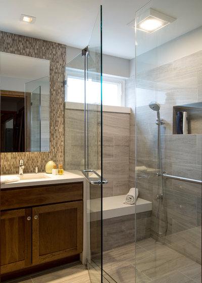 Modern Bathroom by Princeton Design Collaborative