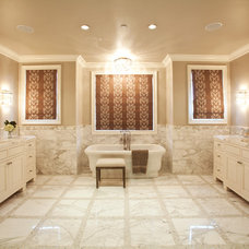 Traditional Bathroom by RA Design Group, LLC