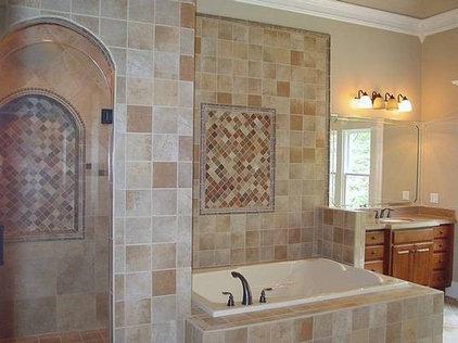 Traditional Bathroom by AHB General Contractors