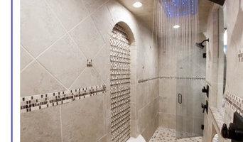 AJ shower