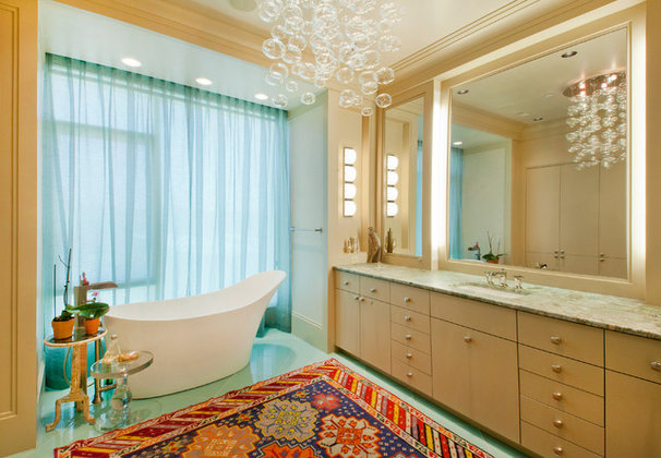 Contemporary Bathroom by Kurt Johnson Photography