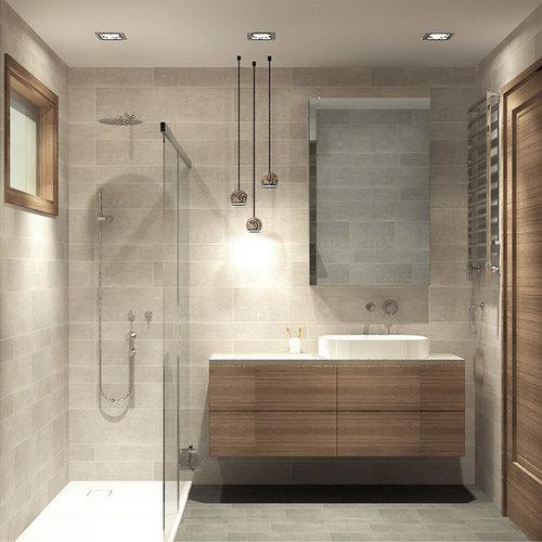 Salle de bain moderne Turquie : Photos et idées déco de salles de bain