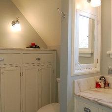 Traditional Bathroom by SBaird Design
