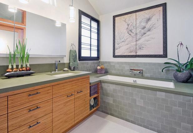 Contemporary Bathroom by Caroline Johnson Photography