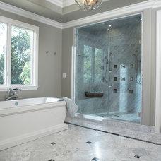 Traditional Bathroom by Fautt Homes
