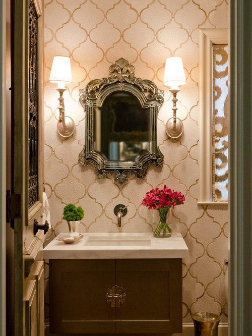 Arabesque Crackle Tile Ideas Pictures Remodel And Decor