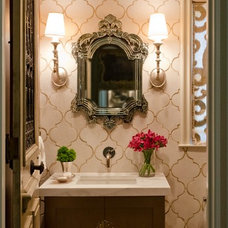 Traditional Bathroom by BRADSHAW DESIGNS LLC