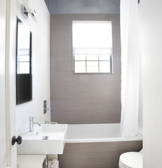 contemporary bathroom by Nerland Building & Restoration, Inc.