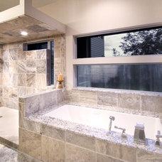 Modern Bathroom by K&W Interiors