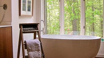 Albemarle County Contemporary Kitchen & Bath