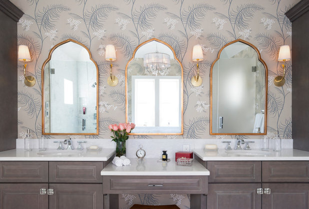 Traditional Bathroom by David Waguespack - Case Design/Remodeling Inc.