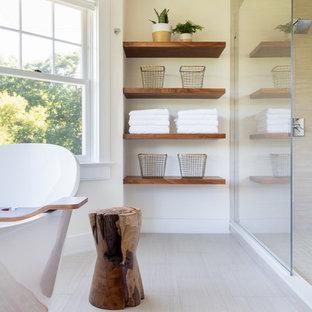 Idee per una stanza da bagno minimalista