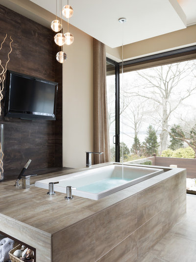 Contemporary Bathroom by Alexander Modern Homes