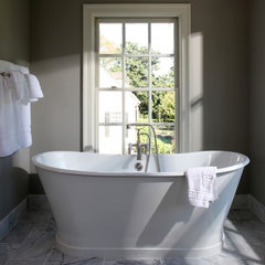contemporary bathroom by Lori Shaffer