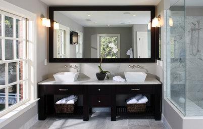 Bathroom Trends: Open Vanity Storage