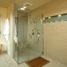 Contemporary Bathroom by Altera Design & Remodeling, Inc.