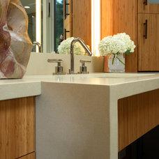 Contemporary Bathroom by Altera Design & Remodeling, Inc.