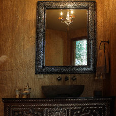 mediterranean bathroom by Interior Motives