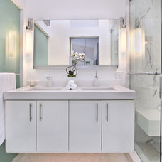 Contemporary Bathroom by International Custom Designs