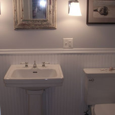 Eclectic Bathroom Alison's Cottage Renovation