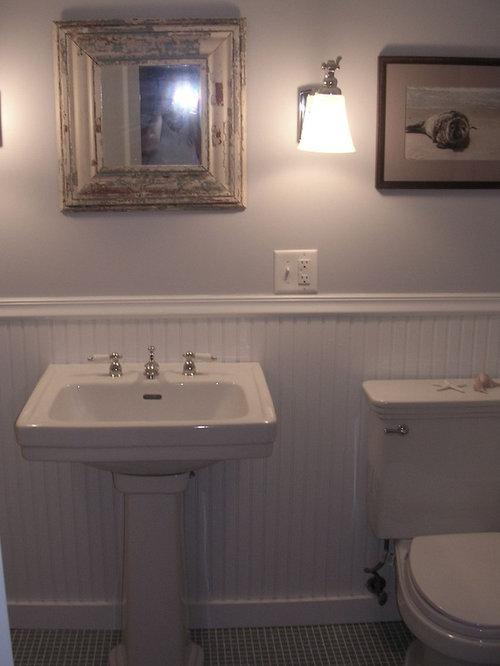 Eclectic Beadboard Bathroom Design Ideas, Remodels & Photos