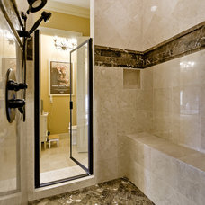 Mediterranean Bathroom by Celtic Custom Homes