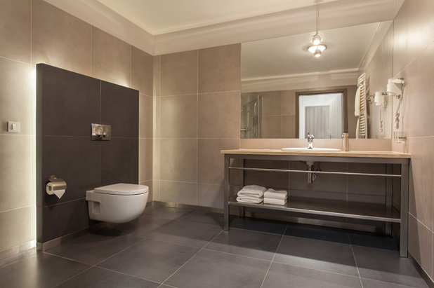 Contemporary Bathroom by All Marble Tiles