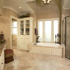 Mediterranean Bathroom by Peterson Homebuilders, Inc.