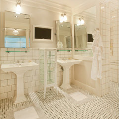 traditional bathroom by Craig Tuttle Construction, Inc.
