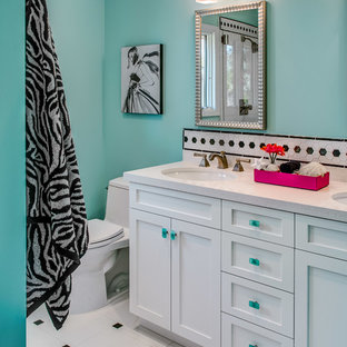 Example of a classic bathroom design in San Francisco