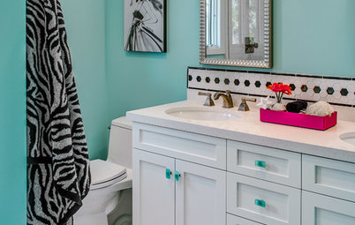 3 Fresh and Fun Bathrooms Just Right for Teenage Girls