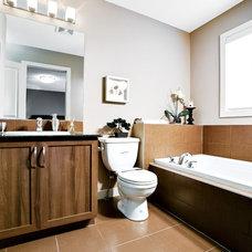 Traditional Bathroom by Shane Homes Ltd.